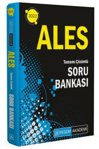 2022 ALES Tüm Adaylar için Soru Bankası  Pegem Akademi Yayıncılık Pege