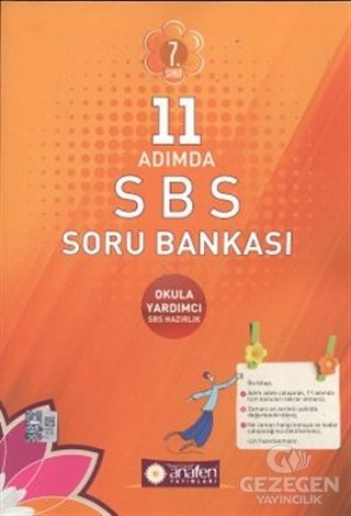 7. Sınıf 11 Adımda SBS Soru Bankası