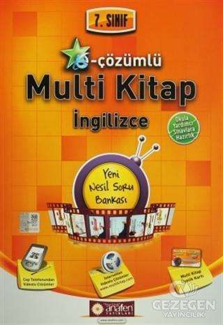 7. Sınıf E-Çözümlü Multi Kitap İngilizce