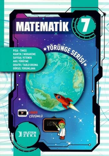 İşleyen Zeka 7. Sınıf Matematik Soru Bankası Yörünge Serisi Video Çözümlü İşleyen Zeka Yayınları