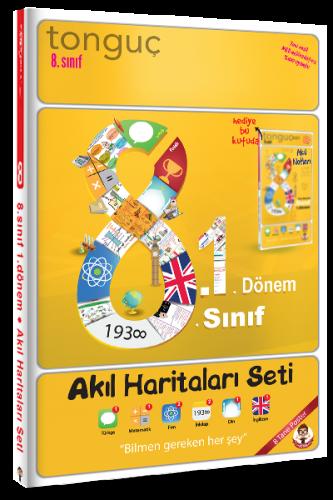 8.1 Akıl Haritaları Seti   Tonguç Akademi