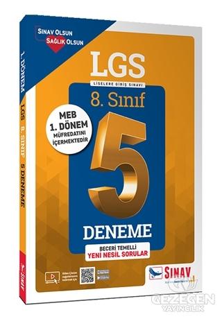 8.Sınıf LGS 5 Deneme Sınavı