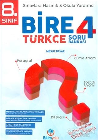 8. Sınıf Bire 4 Türkçe Soru Bankası