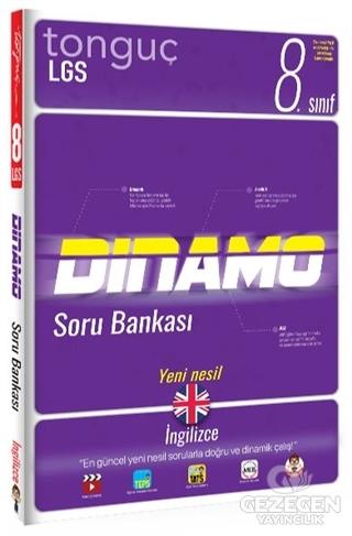 8. Sınıf İngilizce Dinamo Soru Bankası | Tonguç Akademi