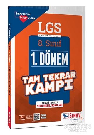 Sınav 8. Sınıf LGS 1. Dönem Yeni Nesil Sorular Tam Tekrar Kampı Çözümlü Sınav Yayınları