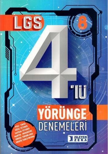 İşleyen Zeka 8. Sınıf LGS 4 Deneme Yörünge Denemeleri İşleyen Zeka Yayınları