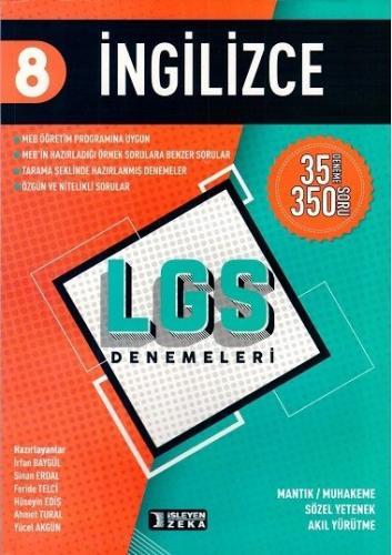 İşleyen Zeka LGS 8. Sınıf İngilizce 35 Deneme 350 Soru İşleyen Zeka Yayınları