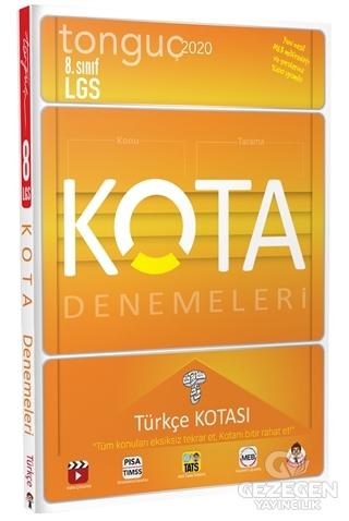 KOTA Konu Taramaları Türkçe Kotası | Tonguç Akademi