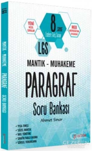 Faktör 8. Sınıf LGS Mantık Muhakeme Paragraf Soru Bankası Faktör Yayınları