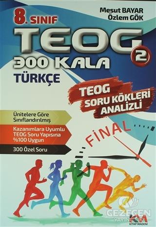 8. Sınıf TEOG 2 Türkçe Soru Bankası