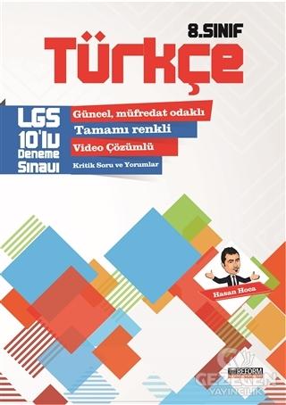 8. Sınıf Türkçe 10'lu LGS Deneme Sınavı