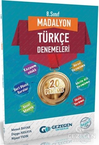 8. Sınıf Türkçe Madalyon Denemeleri