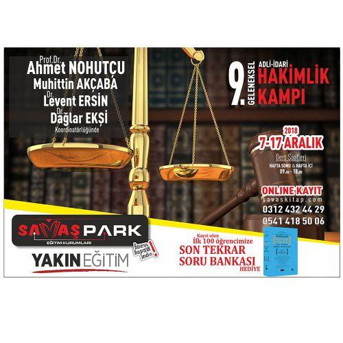 Savaş WebDErs İdari Hakimlik İdare Hukuku Video Anlatımı - Ahmet Nohutçu 2020
