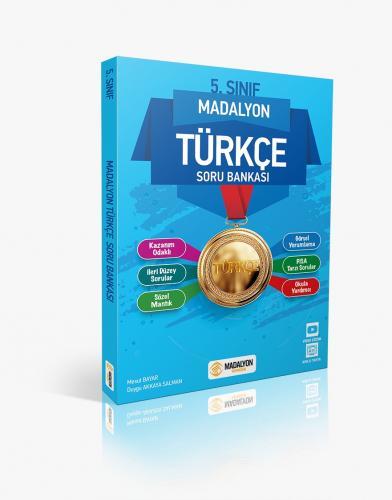 5. Sınıf Madalyon Türkçe Soru Bankası | Madalyon Yayınları