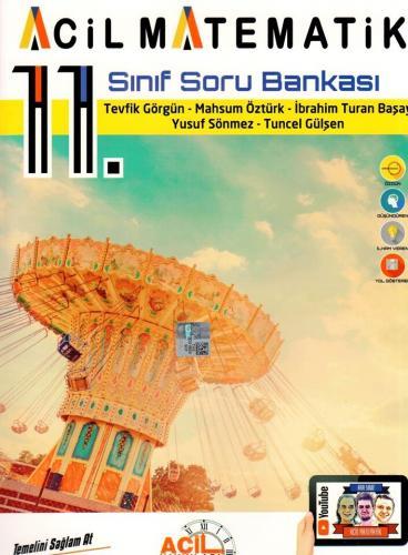 Acil Yayınları 11. Sınıf Acil Matematik Soru Bankası