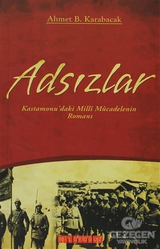 Adsızlar Ahmet B. Karabacak Bilgeoğuz Yayınları