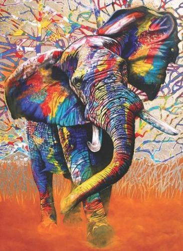Anatolian Afrika Renkleri African Colours 1000 Parça Puzzle - Yapboz