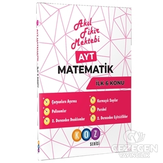 AFM AYT Matematik İlk 6 Konu