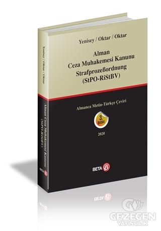 Alman Ceza Muhakemesi Kanunu StrafprozeBordnung (StPO RiStBV)