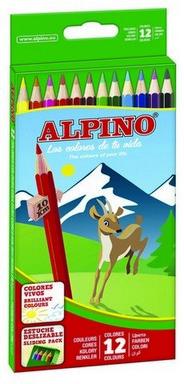 Alpino Kuru Boya Tam Boy 12 Lİ AL010654