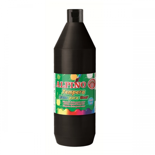 Alpino Sulu Boya Tempera Siyah 500 GR DM010183