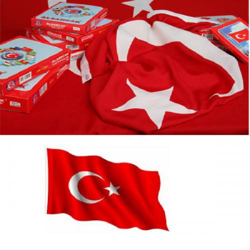 Alsancak Türk Bayrağı Alpaka 40x60 A40