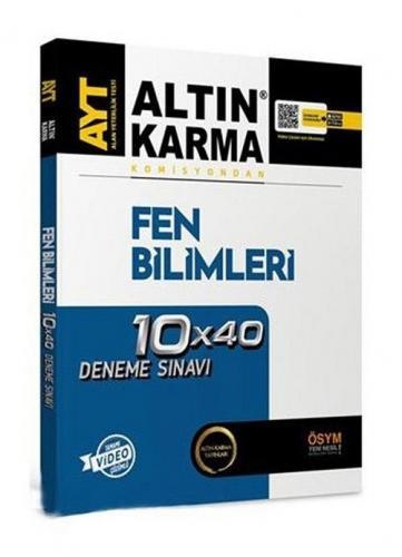 Altın Karma YKS AYT Fen Bilimleri 10x40 Deneme Video Çözümlü Altın Karma Yayınları