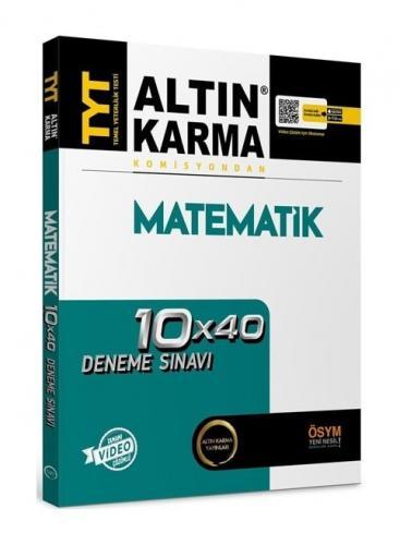Altın Karma YKS TYT Matematik 10x40 Deneme Video Çözümlü Altın Karma Yayınları