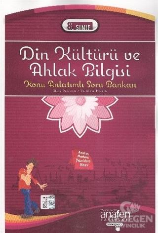 Anafen 8.Sınıf Din Kültürü ve Ahlak Bilgisi Konu Anlatımlı Soru Bankası 2014