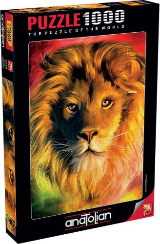 Anatolian Aslan/ The Lion 1000 Parça Puzzle - Yapboz
