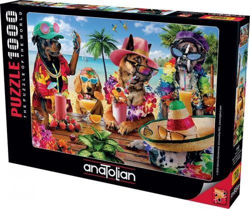 Anatolian Tropikal Parti 1000 Parça Puzzle - Yapboz