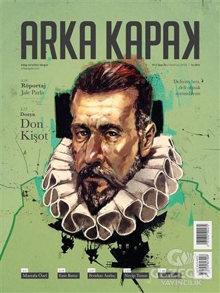 Arka Kapak Dergisi Sayı: 34 Temmuz 2018
