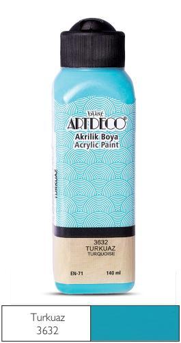 Artdeco Akrilik Boya 140 ML Turkuaz 070R-3632