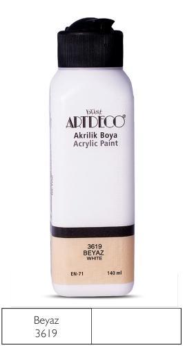 Artdeco Akrilik Boya 140 ML Beyaz 070R-3619