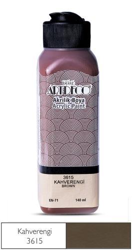 Artdeco Akrilik Boya 140 ML Kahverengi 070R-3615