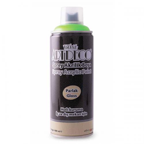Artdeco Akrilik Sprey Boya 400 ML Neon Yeşil Y-400-950