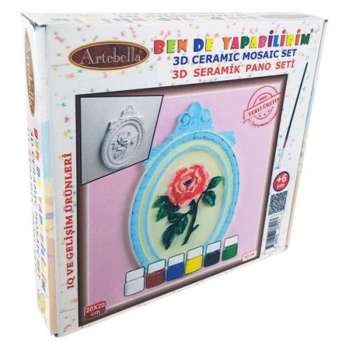 Artebella Seramik Pano Boyama 3D-06