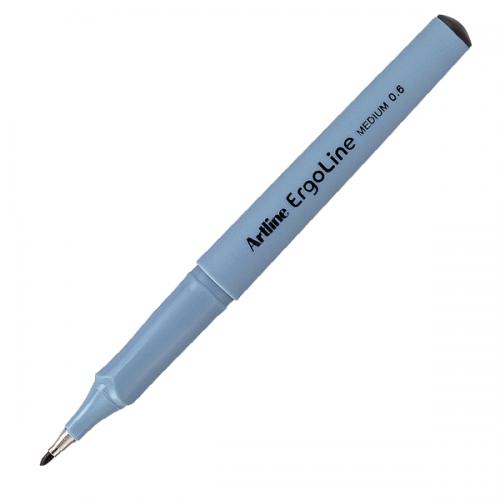 Artline Çizim Kalemi Ergoline Medium Line 0.6 MM Siyah ERG-3600