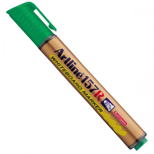 Artline Tahta Kalemi Yuvarlak Uçlu Doldurulabilir Yeşil EK157R