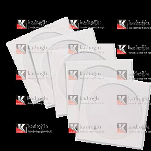 Asil Doğan CD Zarfı Pencereli 12.5x12.5 90 GR Beyaz