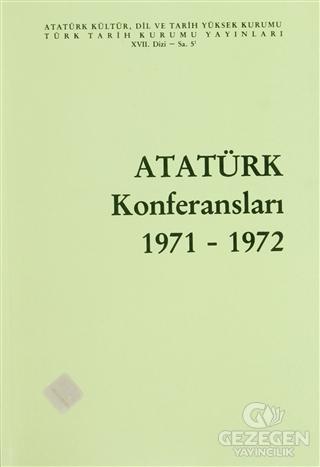 Atatürk Konferansları 1971 - 1972 Cilt: 5
