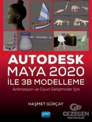 Autodesk Maya 2020 ile 3B Modelleme