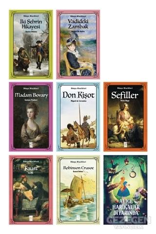 Avrupa Edebiyatı Seti (8 Kitap Takım)