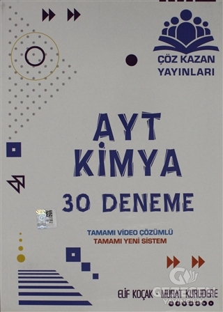 AYT Kimya 30 Deneme