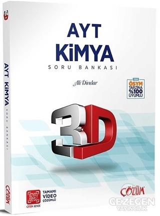 AYT Kimya 3D Soru Bankası