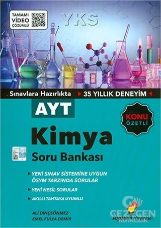 Aydın Ayt Kimya Konu Özetli Soru Bankası
