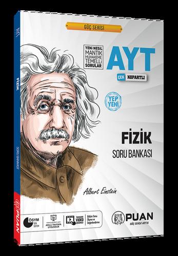 Puan YKS AYT Fizik Soru Bankası Video Çözümlü Güç Serisi Puan Yayınları