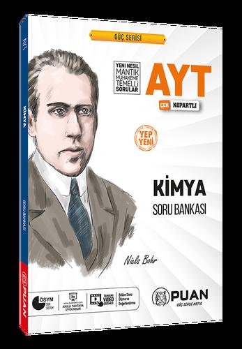 Puan YKS AYT Kimya Soru Bankası Video Çözümlü Güç Serisi Puan Yayınları