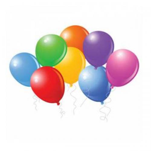 """Balonevi Balon Baskısız 10"""" Pastel 100 LÜ"""