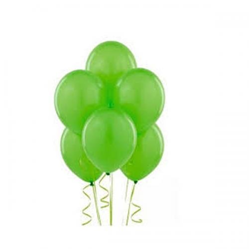 Balonevi Balon Baskısız Açık Yeşil 100 LÜ